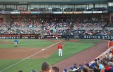 2014 Aberdeen Ironbirds Baseball Game